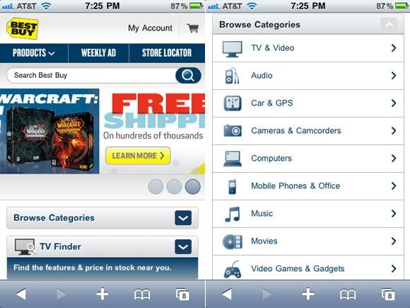 Cómo diseñar una tienda on-line para móvil 1