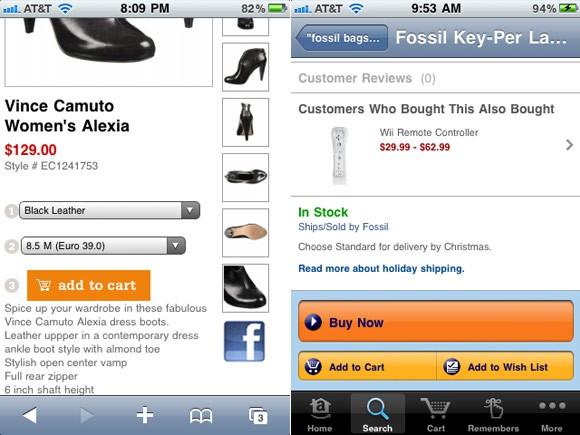 Cómo diseñar una tienda on-line para móvil 5