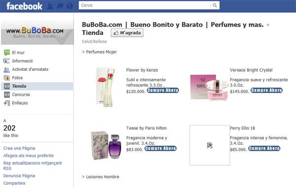 ¿Seguro que quieres tu tienda virtual en Facebook? 1