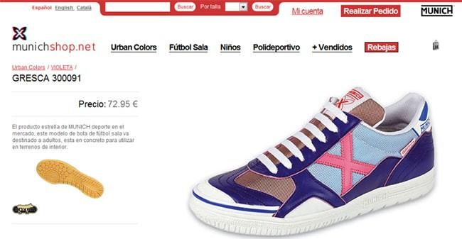 Munich Sports abre su nueva tienda on-line: X-Club 1