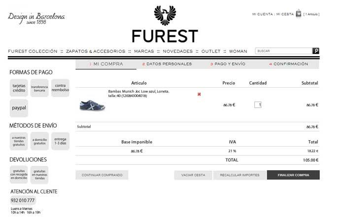 Agradable experiencia de compra en Furest online 4