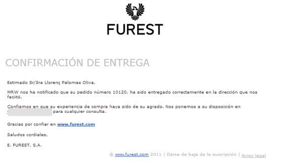 Agradable experiencia de compra en Furest online 6