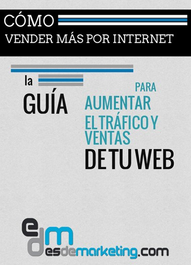 Ebook gratuito: Guía para aumentar el tráfico y ventas de tu web