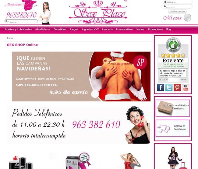 crear sexshop online