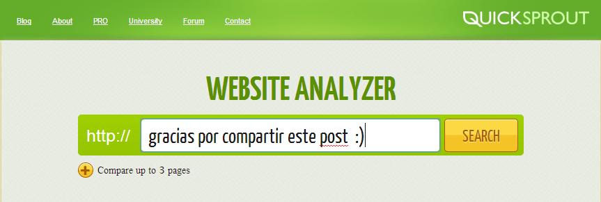 quicksprout web analysis