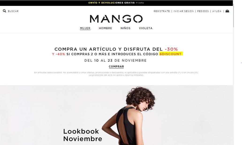 tienda online de mango