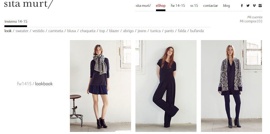 look book e-commerce