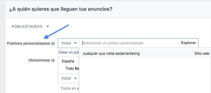 crear campaña remarketing