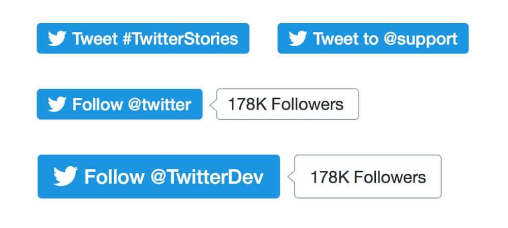 Twitter suprime el contador de URLS y rediseña los botones