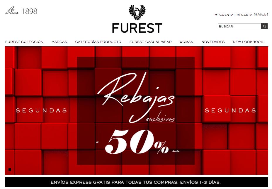 Tienda online de Furest Barcelona