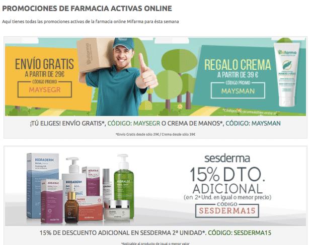 ofertas farmacia mifarma
