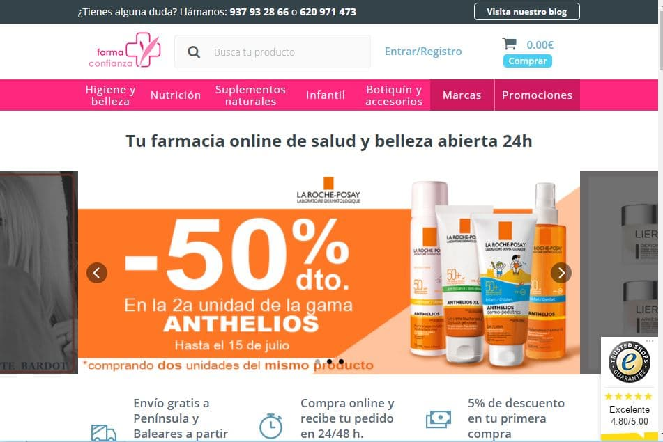 Farmaconfianza online