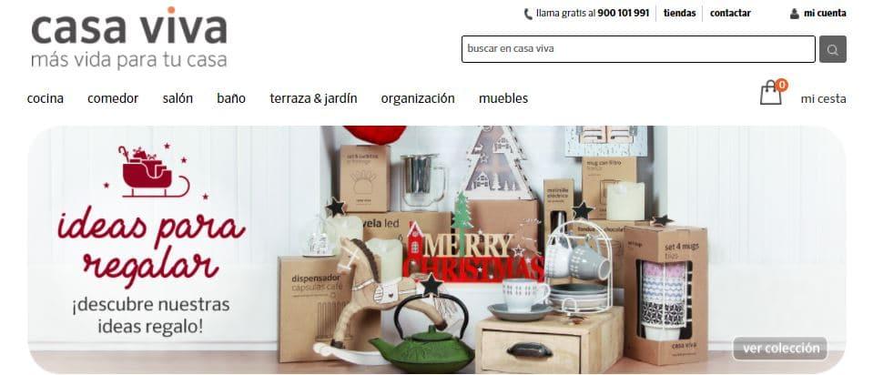 Mejores tiendas de decoraci n online de espa a top 2018 for Decoracion casa viva