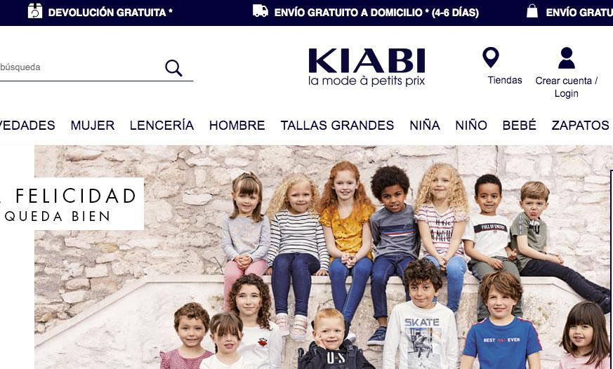 Kiabi Web