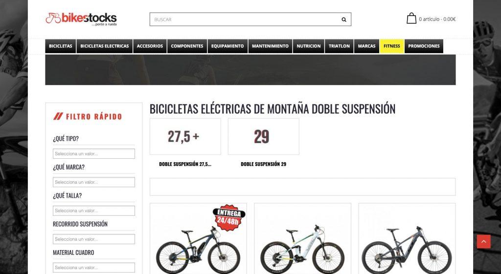 bikestocks tienda bicis